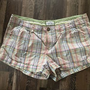 Plaid American Eagle Shorts